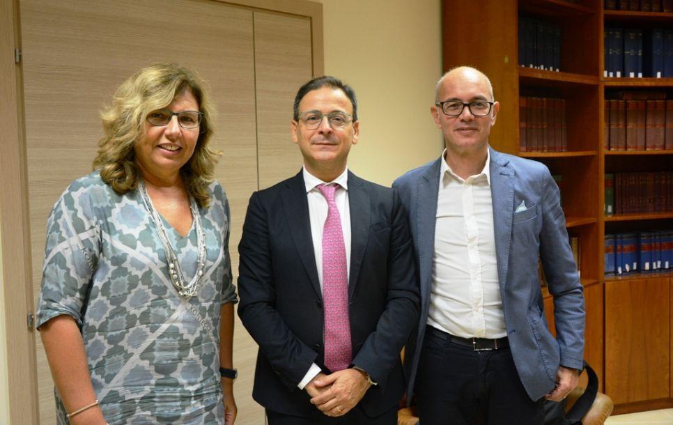 Il Sindaco Quinci in visita al nuovo Palazzo di Giustizia di Marsala