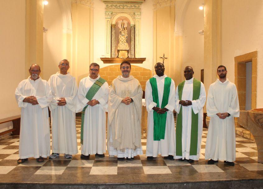 PARROCCHIA SACRO CUORE IN SANTA MARIA DI GESU' MAZARA. La comunità parrocchiale saluta il parroco Don Vincenzo ALOISI
