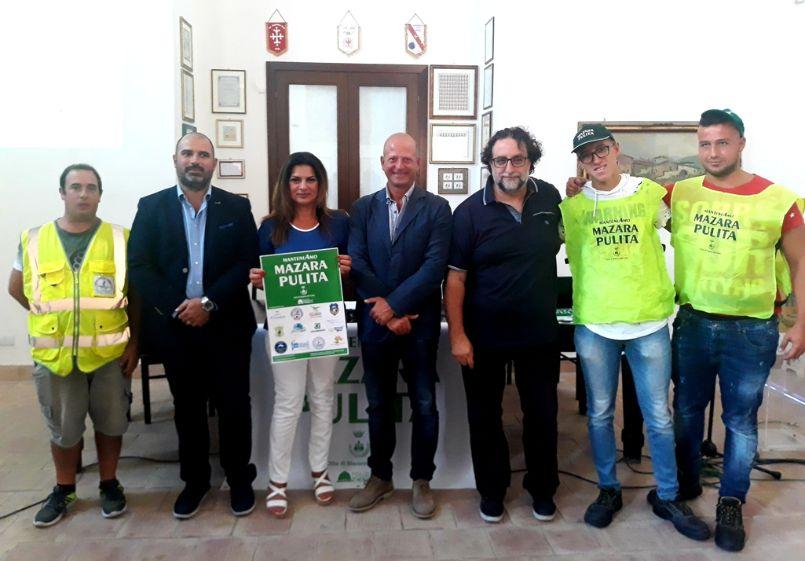 """Mazara: Presentati gli spot della campagna di sensibilizzazione """"Manteniamo Mazara Pulita"""""""