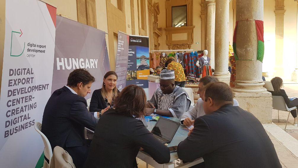 Mazara. Successo per la Delegazione dell'Ungheria a Blue Sea Land 2019