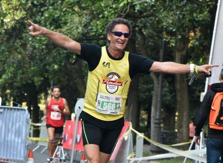 """L'atleta Pino Pomilia all'ultramaratona di Roma per dire """"NO AL DOPING"""""""