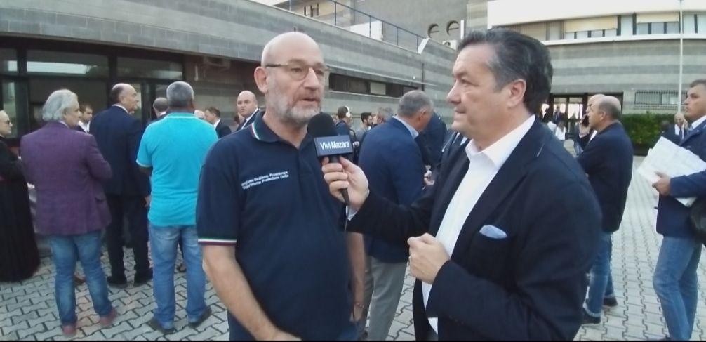 Mazara. Dragaggio del porto. Intervista a Calogero Foti, dirigente responsabile del servizio regionale di protezione civile
