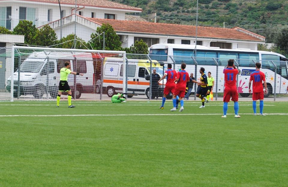 Monreale - Mazara 1-2  In rimonta Amodeo e Genesio siglano la prima vittoria dei canarini in campionato