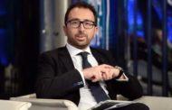 Il ministro Alfonso Bonafede il 9 ottobre all'inaugurazione del nuovo tribunale di Marsala