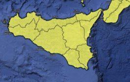 Allerta gialla in Sicilia: da domani temporali e venti forti