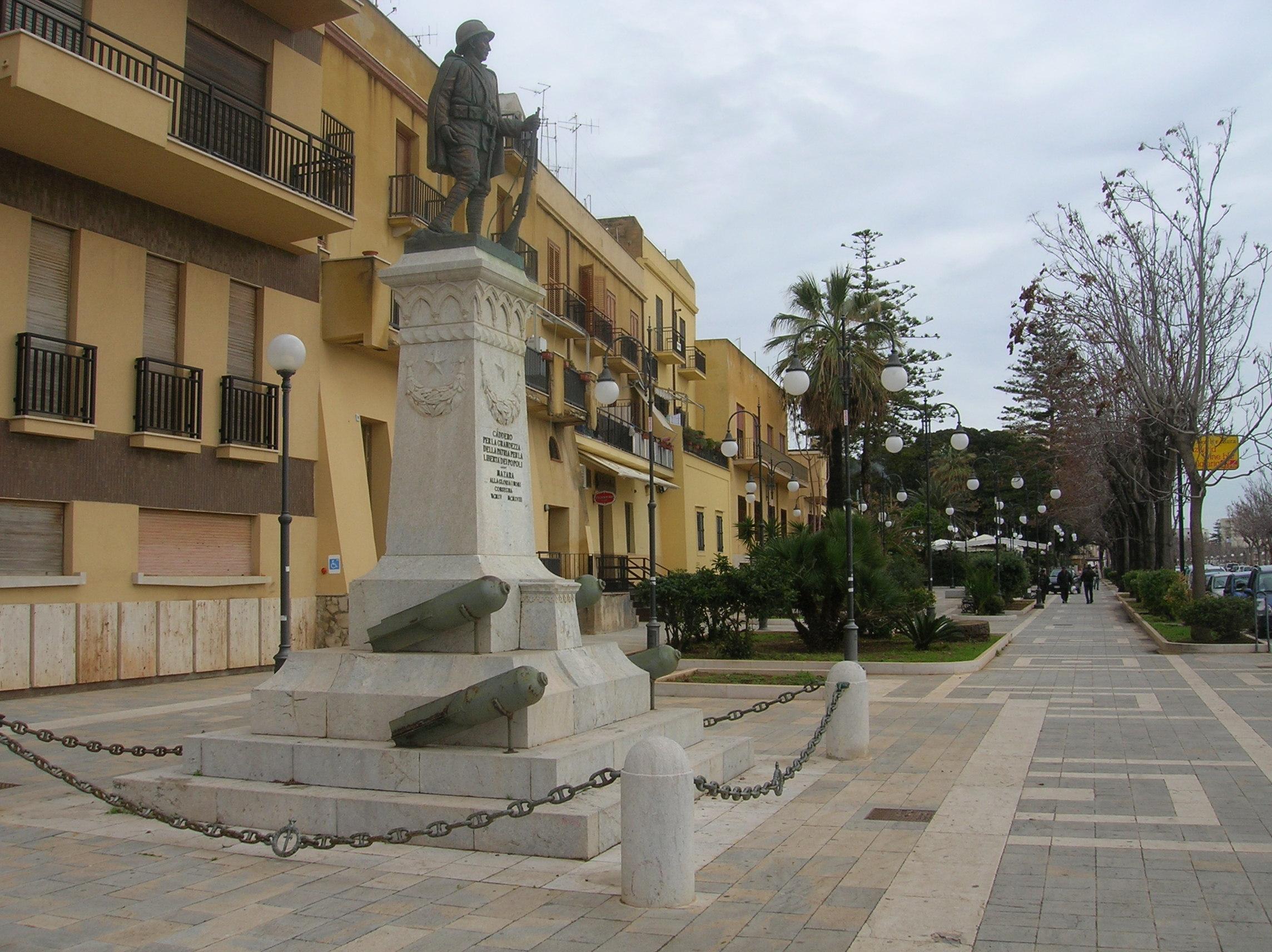 Mazara. Celebrazioni del 4 e 12 novembre dedicate alle forze armate ed ai caduti in mare