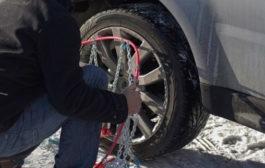 Un'ordinanza dell'Anas impone l'obbligo di catene a bordo o l'utilizzo di penumatici invernali sull'autostrada A29 Palermo-Mazara del Vallo
