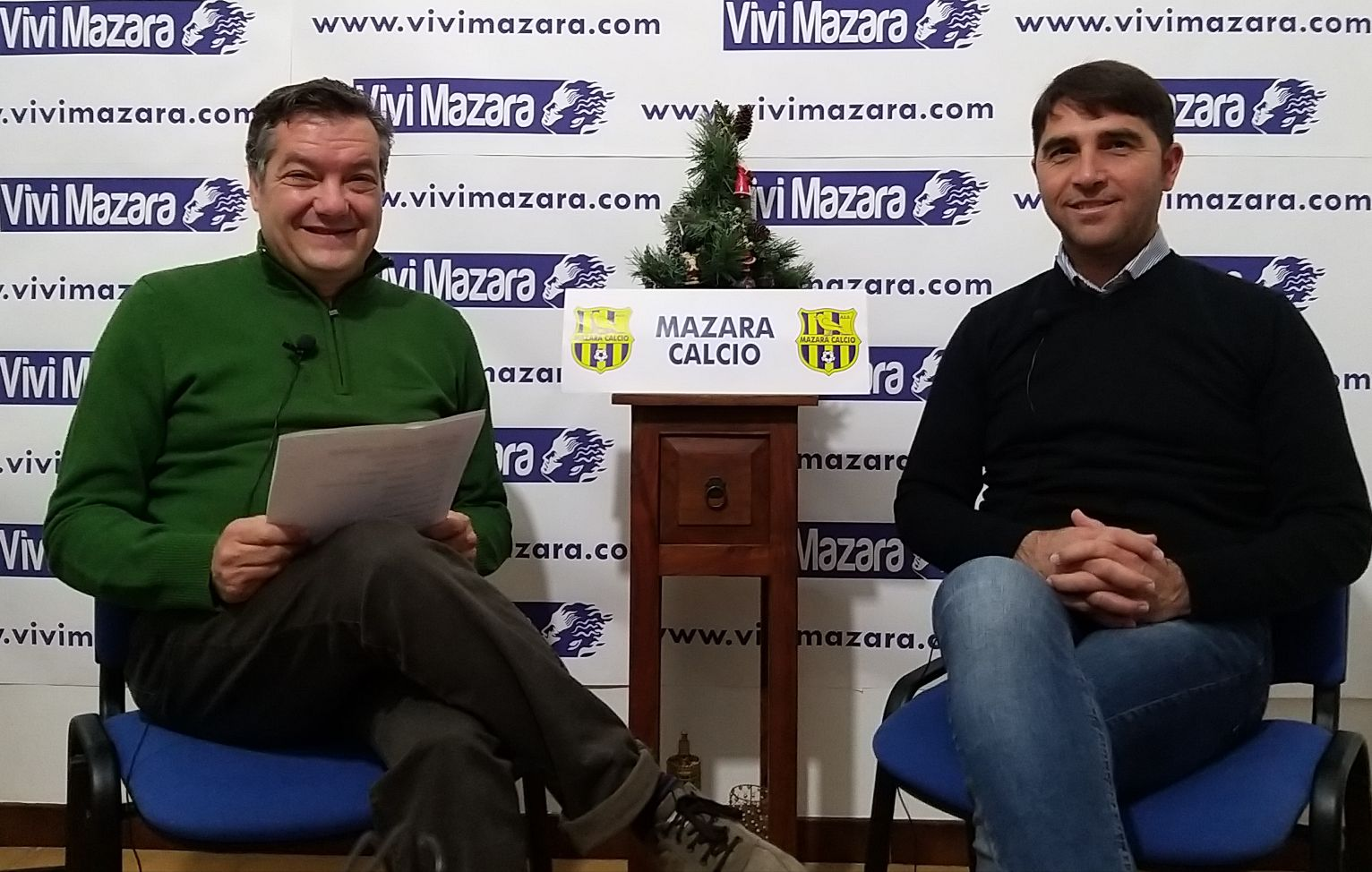 Intervista con l'allenatore del Mazara calcio, Dino Marino