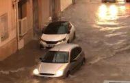 Mazara. La pioggia provoca allagamenti in città