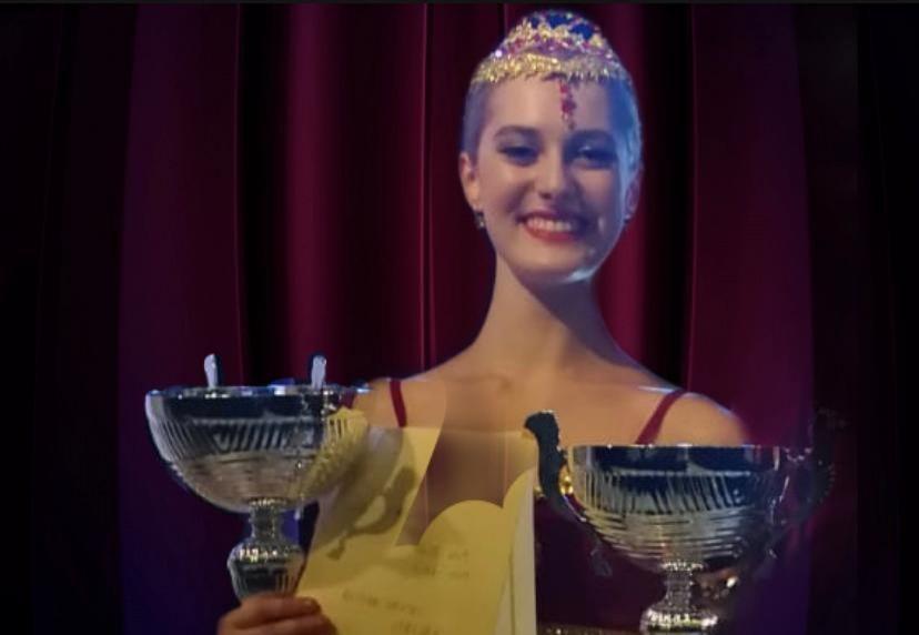 La mazarese Rebecca Armata incanta al concorso
