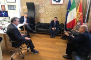 """Forza Italia, Toni Scilla: """"Straordinario incontro con il Presidente dell'ARS  On. Gianfranco Miccicihé per parlare di problemi e  prospettive per il comune di Salaparuta e di tutta la Valle del Belice"""""""