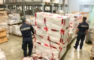 La Capitaneria di porto di Mazara ha sequestrato circa 2500 kg di pesce all'interno di uno stabilimento che commercializza prodotto ittico