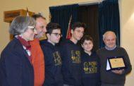 Premio CONI per la serie B dello Scacco Club Mazara