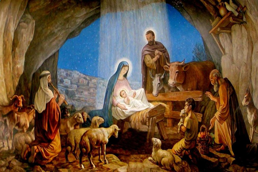 25 dicembre. È Natale. Gesù viene per ciascuno di noi