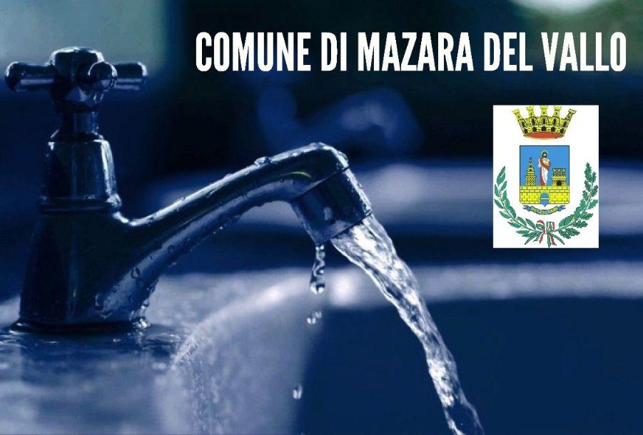 Mazara. Avviso erogazione idrica: nuova turnazione zone Trasmazaro, centro città e via Marsala alta