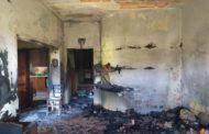 Mazara. La tragedia della famiglia Monaco. Le foto della casa incendiata