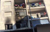 Coniugi tratti in salvo da un incendio scoppiato in un appartamento a Mazara due
