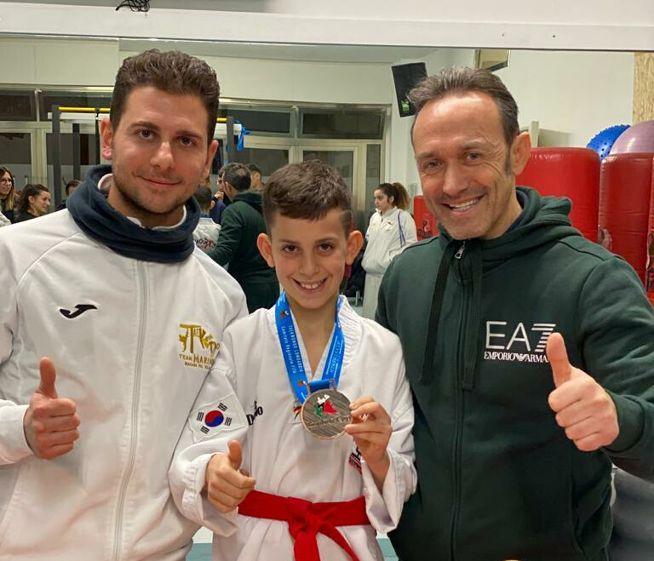 Mazara. Insubria Cup 2020. Medaglia di bronzo per il piccolo Atleta Gancitano Vito