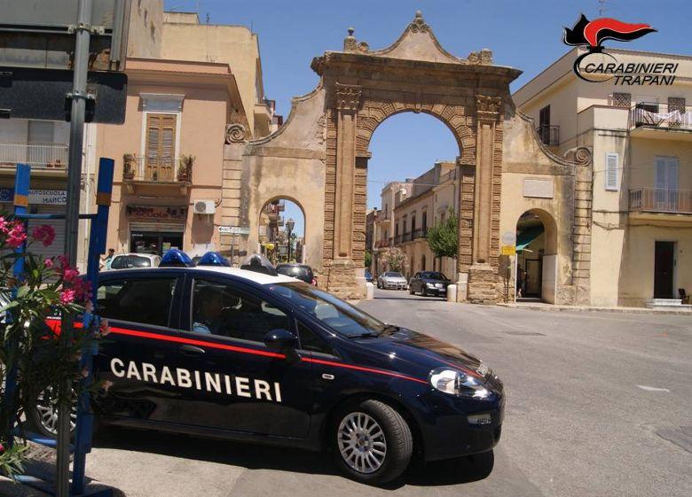 QUATTRO ARRESTI AD OPERA DEI CARABINIRI DELLA COMPAGNIA DI CASTELVETRANO