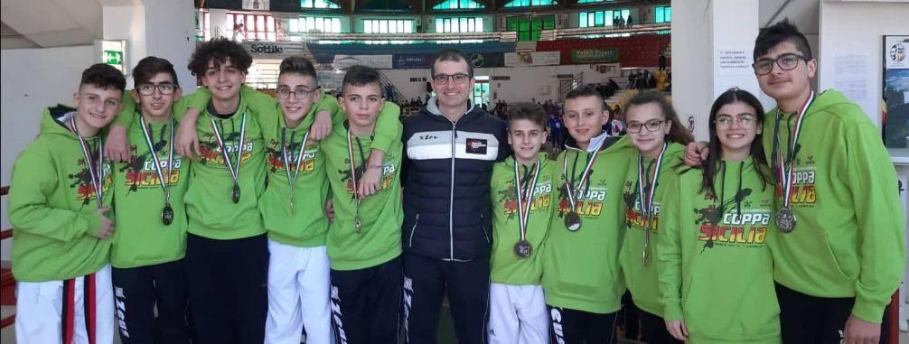 Mazara. Fighter Taekwondo: tre ori, due argenti e quattro bronzi ai campionati interregionali