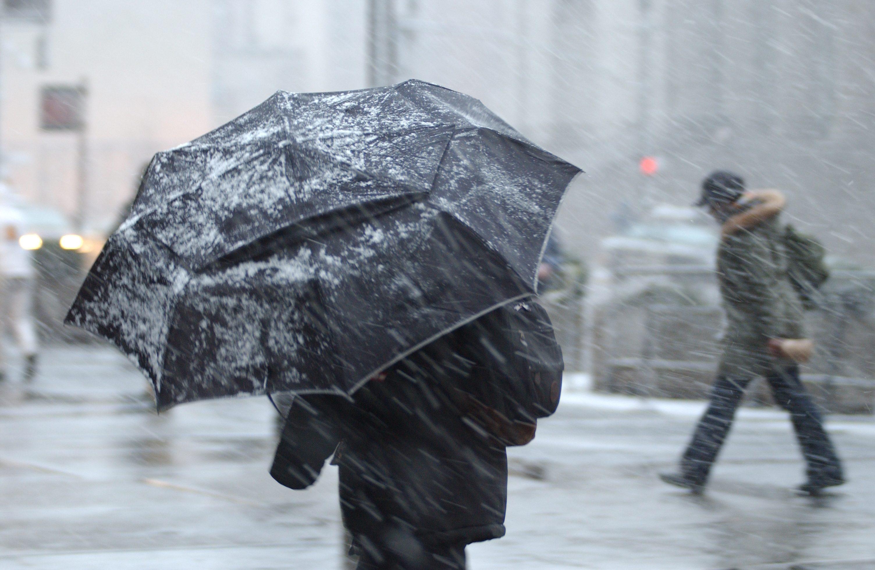 Maltempo: in arrivo venti burrasca, freddo e neve
