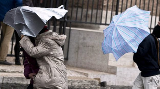Maltempo, in arrivo freddo e venti di burrasca anche in Sicilia