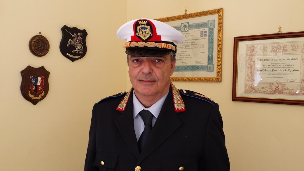 Mazara. Coronavirus, Collegamento telefonico con il comandante della polizia municipale, Coppolino