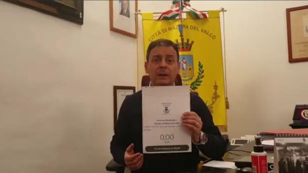 Mazara. Amministrazione e Consiglio Comunale: ATTIVATA RACCOLTA FONDI PER I CITTADINI IN DIFFICOLTA'