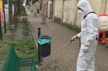 Petrosino. Coronavirus: al via oggi la sanificazione di scuole, edifici pubblici e strade