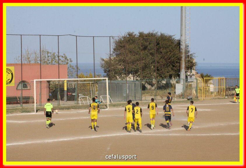 CEPHALEDIUM - MAZARA 0-6 I gialloblu raggiungono il sesto posto in classifica