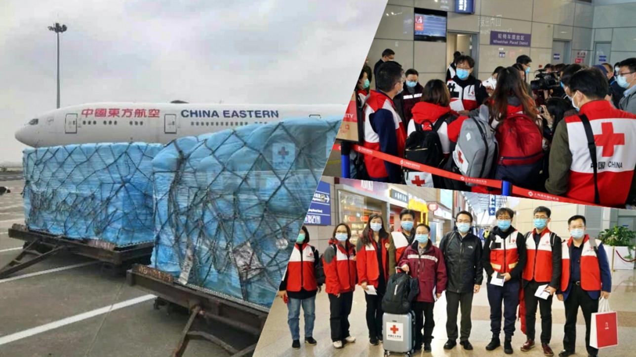 Coronavirus, arrivati a Roma medici e aiuti dalla Cina
