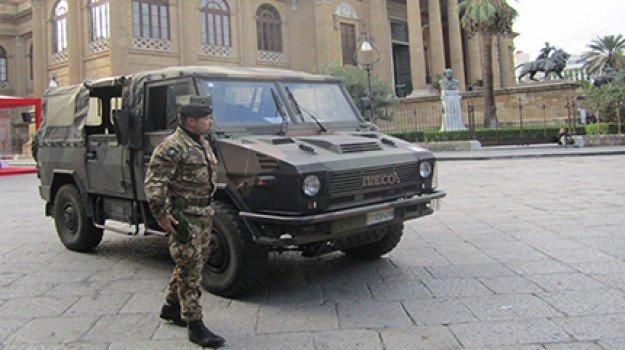 Coronavirus, da domani in Sicilia i controlli dell'Esercito anche sulle strade urbane