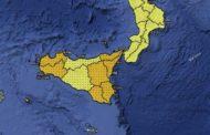 Maltempo, forti piogge e temporali: allerta arancione in Sicilia