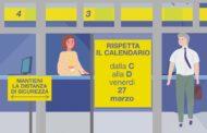 Poste Italiane, da domani il pagamento anticipato delle pensioni. Mantenere le distanze di sicurezza