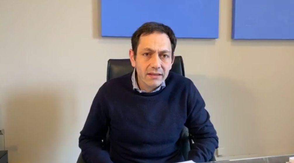 Coronavirus, l'assessore regionale alla sanità Ruggero Razza analizza la situazione in Sicilia