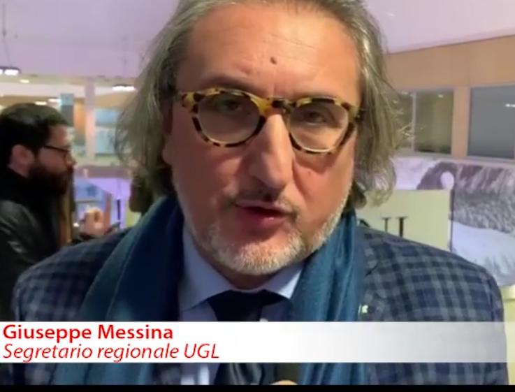 AL TELEFONO PEPPE MESSINA SEGRETARIO REGIONALE UGL SICILIA