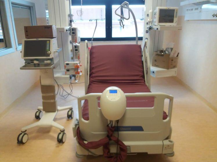 Coronavirus, al Covid-hospital di Marsala attivate 5 postazioni di Terapia Intensiva