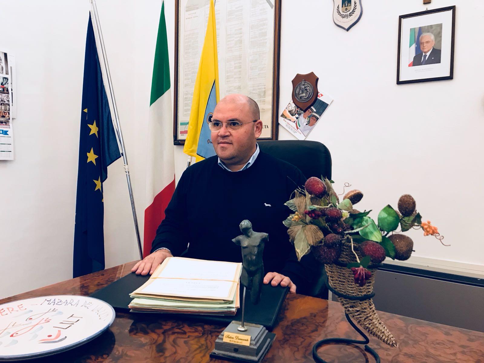Mazara. Gli Auguri pasquali del presidente del Consiglio Comunale Vito Gancitano