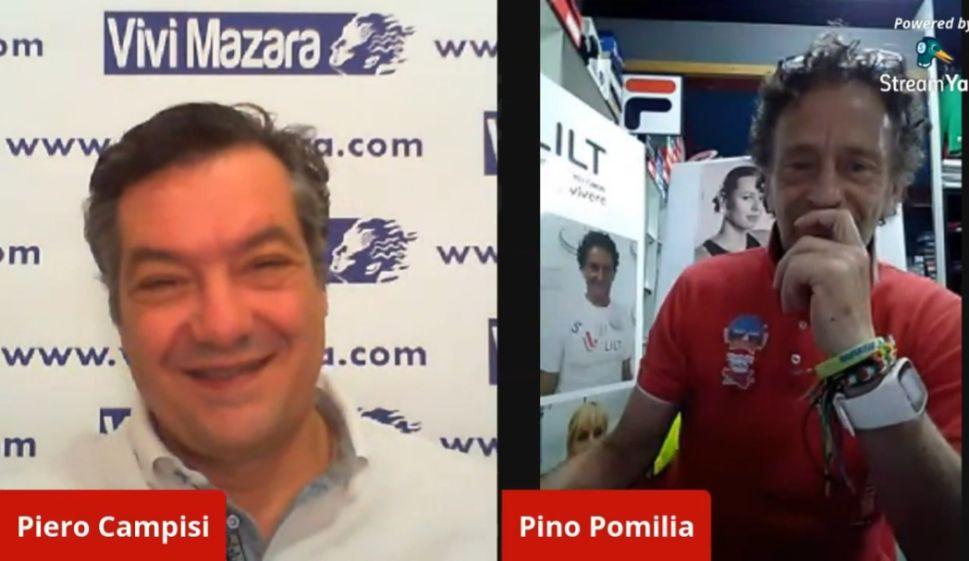 Mazara. Incontro... con l'atleta Pino Pomilia