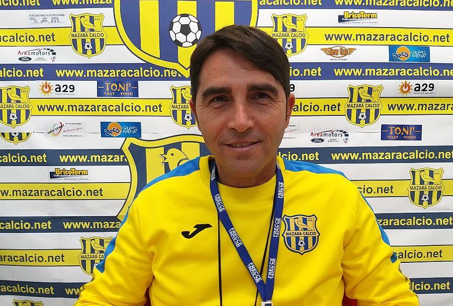 Mister Dino Marino riconfermato alla guida tecnica del Mazara per la stagione 2020/21