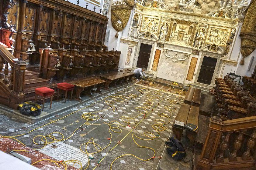 Mazara. Cattedrale, indagine tomografica alla scoperta delle cripte