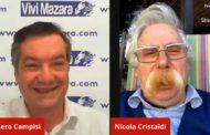 Mazara. Incontro in video conferenza con Nicola Cristaldi