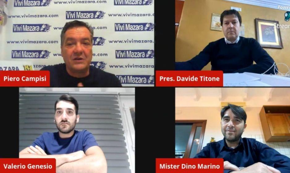 Mazara calcio: La società gialloblu punta a vincere il prossimo campionato