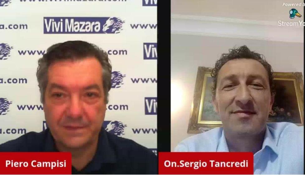Mazara. Incontro... con l'On. Sergio Tancredi, entrato nel gruppo misto all'A.R.S.