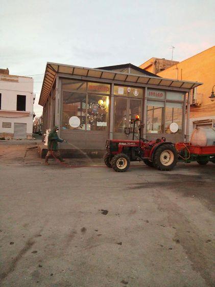 Mazara. Sanificazione con trattori, il prossimo intervento giovedì 7 maggio