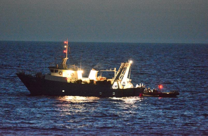 """Marina Militare: la Fregata """"Carabiniere"""" supporta sanitariamente un marittimo di Mazara del Vallo"""