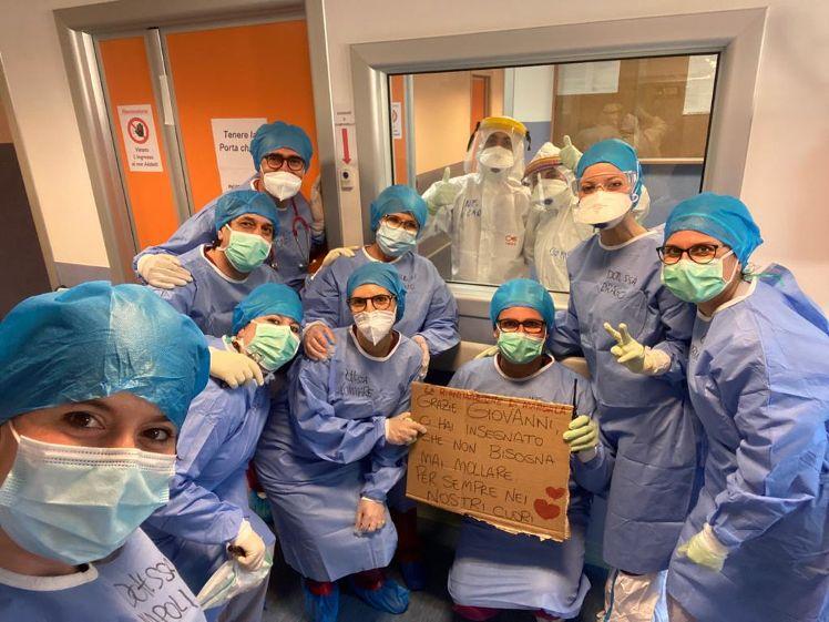 Coronavirus, dimesso ultimo paziente Covid da Terapia Intensiva 'Covid-hospital' di Marsala
