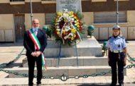 Mazara. Festa della Repubblica, semplice cerimonia dinanzi al Monumento ai Caduti per la Patria