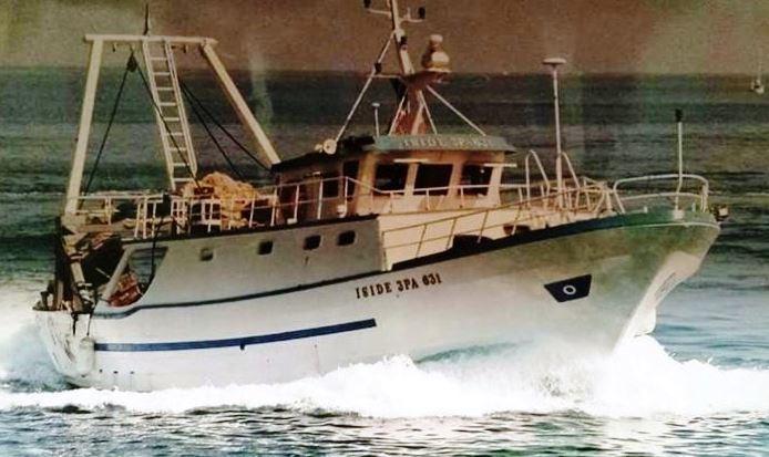 Nuova Iside, il relitto del peschereccio localizzato a 1.400 metri di profondità
