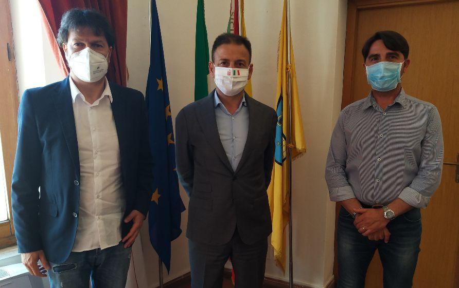 La società Mazara calcio ha incontrato il Sindaco Salvatore Quinci